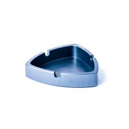 Gleichdick-Ashtray, Steelblue