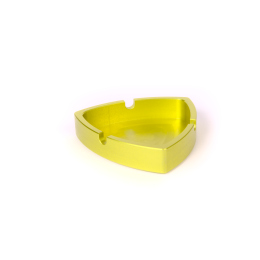 Gleichdick-Ashtray, Limegreen