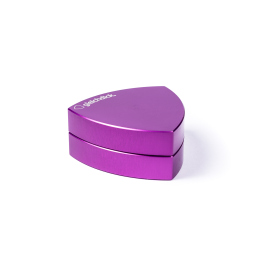 2-part-Gleichdickgrinder, Purple