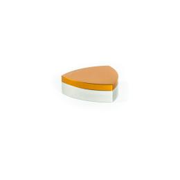 Gleichdick Dose, Natur / Orange