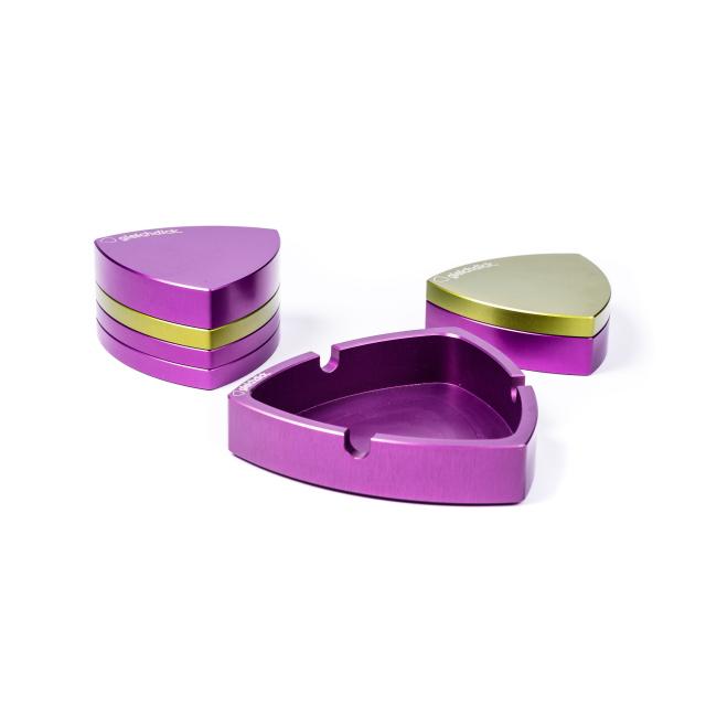 Connaisseur-Set | 4-part | Purple-Limegreen