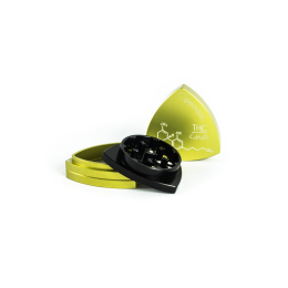 4-part-Grinder, Limegreen / Black - THC