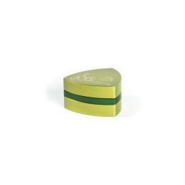 3-Teil-Grinder, Limegreen / Grün - THC